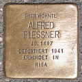 Stolperstein Alfred Plessner by 2eight 3SC1396.jpg