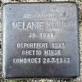 Stolperstein Delmenhorst - Melanie König (1934).JPG