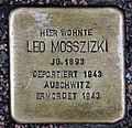 Stolperstein Elbstr 28 (Meißen) Leo Mosszizki.jpg