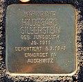 Stolperstein Hauptstr 80 (Rumbg) Hildegard Silberstein.jpg
