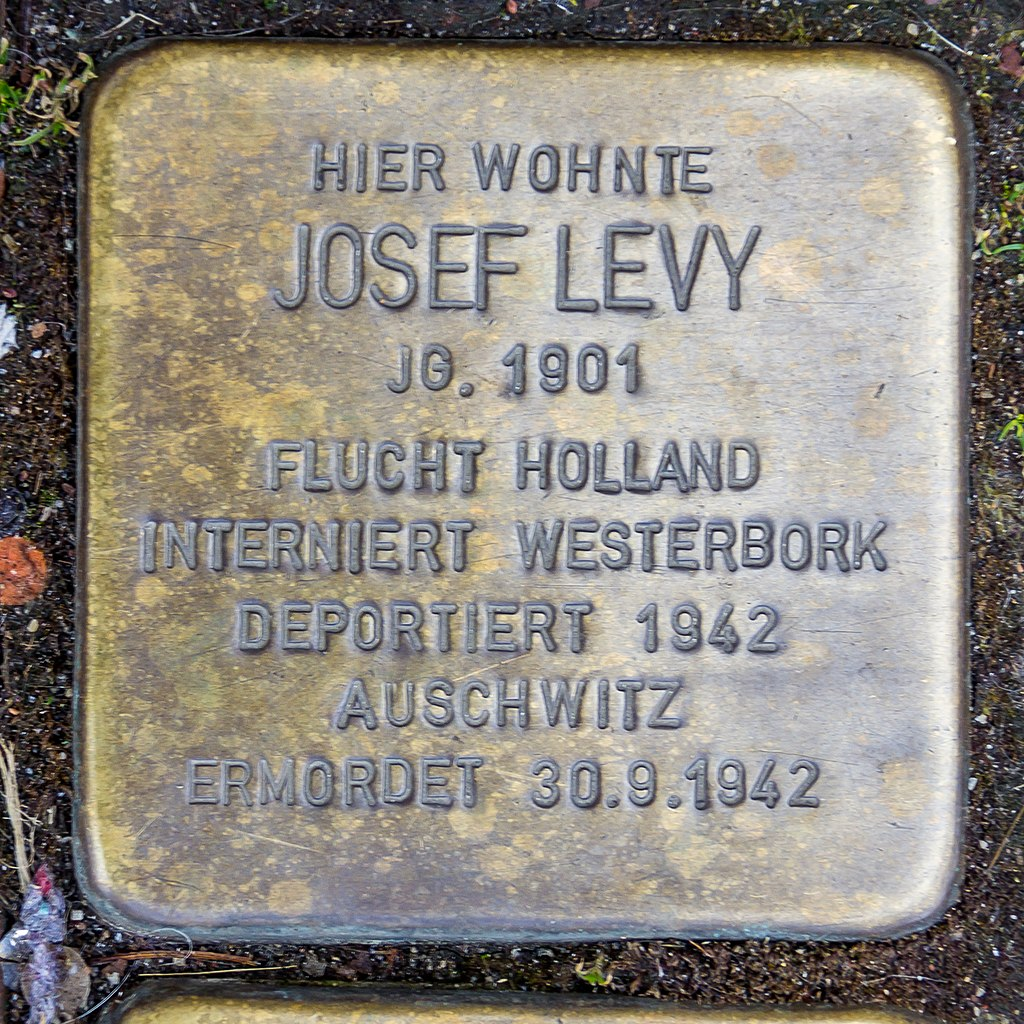 Stolperstein Josef Levy