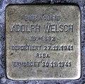 Stolperstein Ludwigkirchplatz 12 (Wilmd) Adolph Welsch.jpg