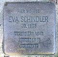 Stolperstein Martin-Luther-Str 127 (Schöb) Eva Schindler.jpg