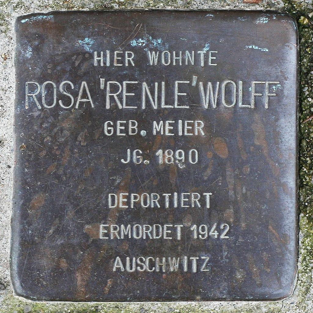 Stolperstein Rosa Renle Wolff Müllheim.jpg