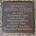 Stolperstein Verden - Heinrich Giesges (1899).jpg
