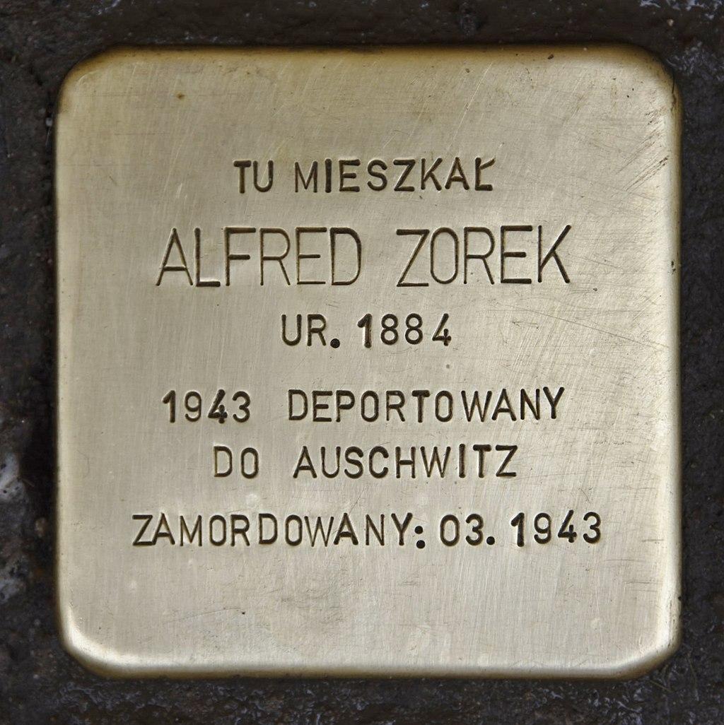 Stolperstein für Alfred Zorek.JPG