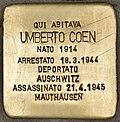 Stolperstein für Umberto Coen (Ancona).jpg