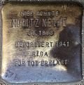 Stumbling block for Moritz Nethe (Alteburger Straße 11)