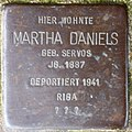 Stolpersteine Krefeld, Martha Daniels (Issumer Straße 7).jpg