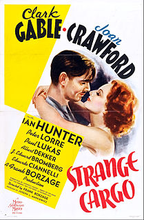 <i>Strange Cargo</i> (1940 film) 1940 film by Frank Borzage