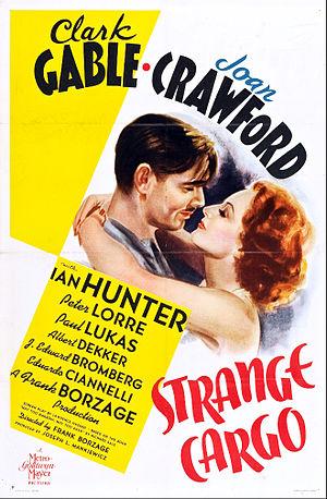 Strange Cargo (1940 film) - Original theatrical poster