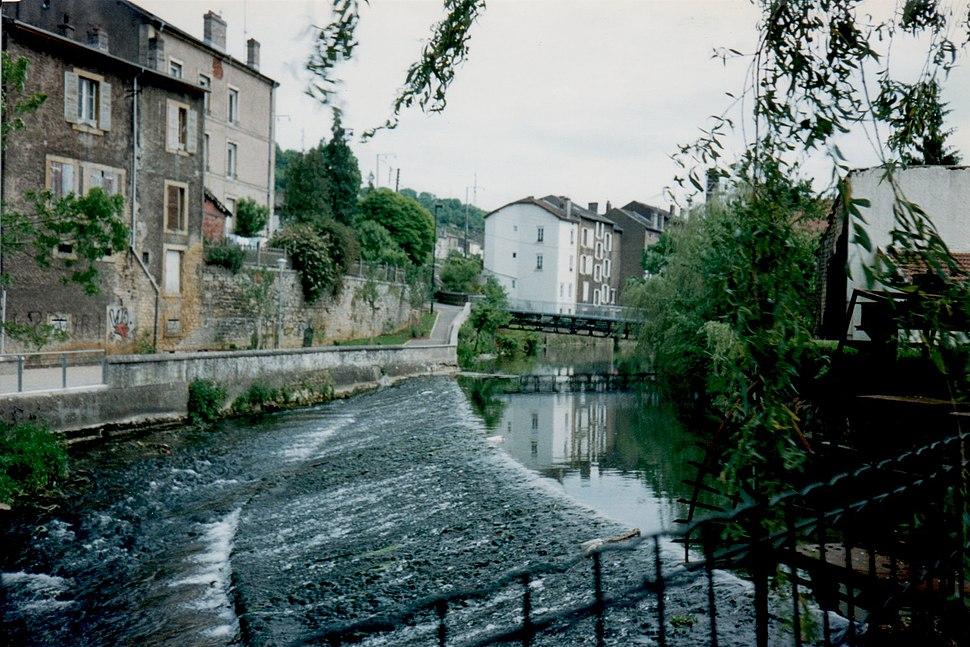 Crusnes River in Longuyon