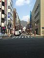 Street View in front of Kobe-Sannomiya Station.jpg