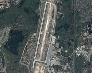 Strigino International Airport - Airport View from the air