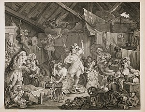 Strolling Actresses Dressing in a Barn - Image: Strolling Actresses