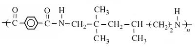 Structure du polyamide 6/3-T