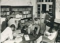 Students at the library of Taihoku High School 02.jpg