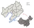 Subdivisions of Liaoning (China).png