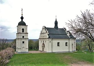 Cherkasy Oblast - A church in Subotiv near Chyhyryn, the birthplace of Ukrainian Hetman Bohdan Khmelnytsky.