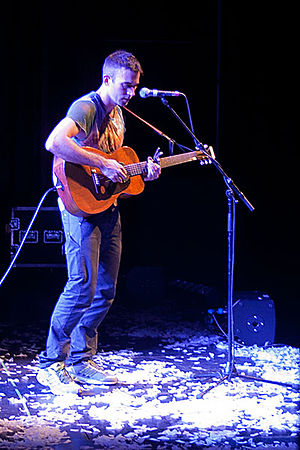 Sufjan Stevens - Stevens (pictured here performing in 2011) returned to recording and touring in 2010 after a hiatus.
