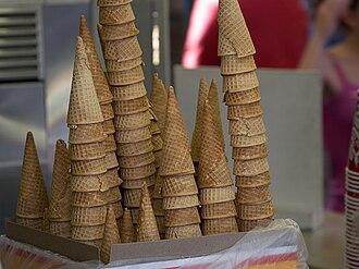 Ice cream cone - Image: Sugar cones