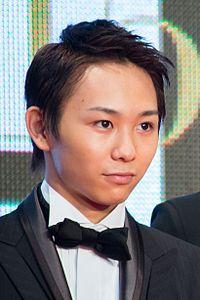 "Sugaya Kenta ""Bikuu The Movie"" at Opening Ceremony of the 28th Tokyo International Film Festival (22241420119) (cropped).jpg"
