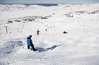 Ben Lomond (Tasmania) - Image: Summit run