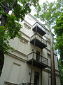 Sumpfzypresse Weinligstraße 14 - Liste der Naturdenkmale in Leipzig - Gruppe Einzelbäume Nr. 65.jpg