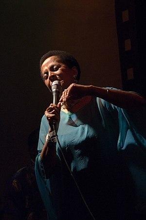 Susana Baca - Susana Baca performing in 2006.