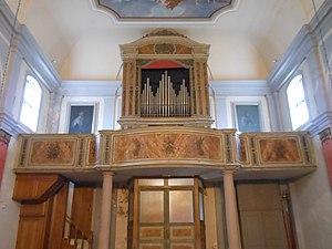 Sutrio, Chiesa di Ognissanti, Organo Beniamino Zanin.jpg