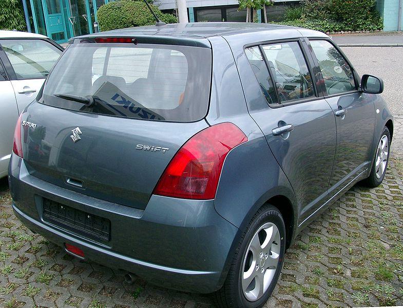 Swift or Vitz - which is a better option - 785px Suzuki Swift rear 20070902