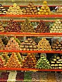 Sweets in the spice bazaar in Istanbul.JPG