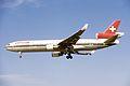 Swissair AG McDonnell-Douglas MD-11 (HB-IWL 494 48456) (10817063706).jpg