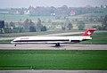 Swissair MD-83; HB-IUH@ZRH;15.04.1995 (4905421159).jpg