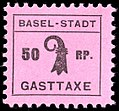 Switzerland Basel 1942 Tourism revenue 50rp - 3a round period.jpg