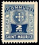 Switzerland St. Maurice revenue 2Fr - 5.jpg