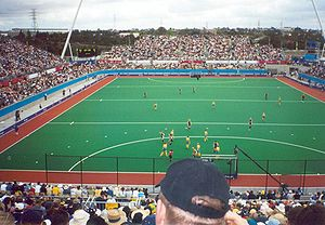 Field hockey at the 2000 Summer Olympics - Image: Sydney 2000 Olympic hockey