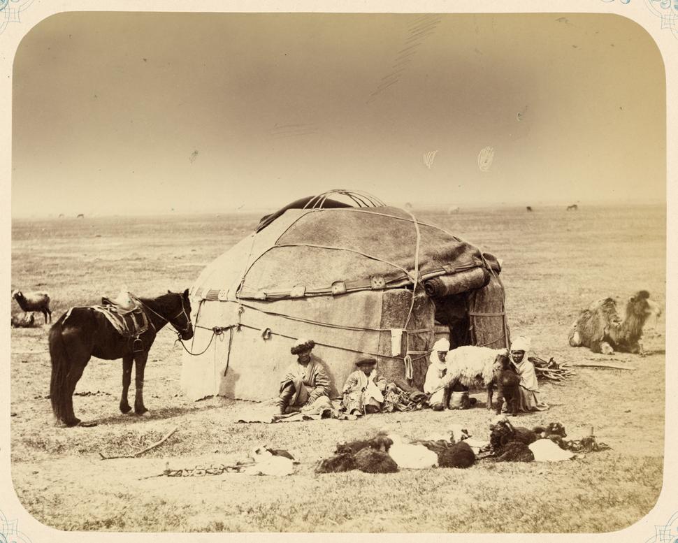 Syr Darya Oblast. Kyrgyz Yurt WDL10968