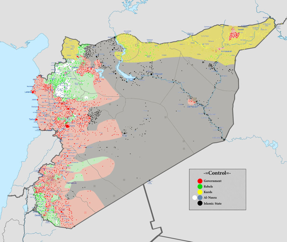 Syrian civil war 01 02 2016