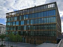Täbys nye kommunehus i Täby-Centrum.