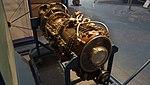T58-IHI-10M2 turboshaft engine(cutaway model) right front view at Kakamigahara Aerospace Science Museum November 2, 2014.jpg