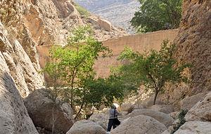 "Gerash - ""Tag-e-Av"" The Dam antiquity goes back to ""Sasanian"" age (224-651 A.C)"