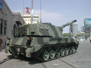Tanque Argentino Mediano - Argentine TAM VCA 155 Palmaria