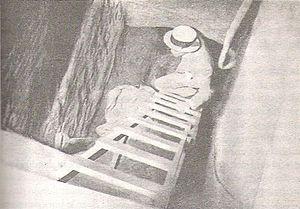 """El túnel de laCarbonería """"El Buen Trato"""", por donde se produjo la fuga del Penal de Punta Carretas"""