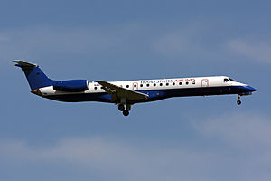 Trans States Airlines - An ERJ 145EP at Washington Dulles International Airport