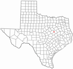 Location of Mart, Texas