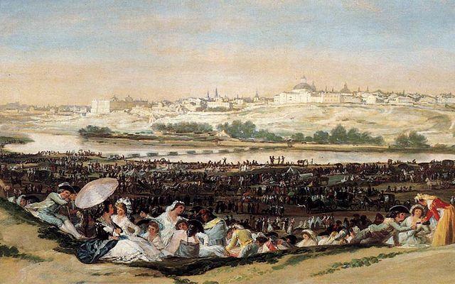 File Tableau La Pradera De San Isidro De Goya Jpg Wikimedia Commons