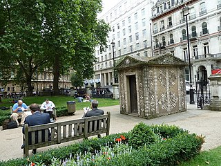 Grosvenor Gardens, London street in City of Westminster, United Kingdom