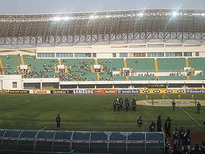 Football in Ghana - Interior design of Tamale Stadium