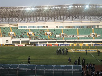 Football in Ghana - Interior design of Tamale Stadium